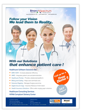 Healthcare Consulting Services and HIPAA Compliant Delivery Center