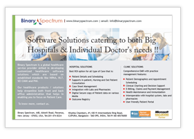 healthcare software solutions India